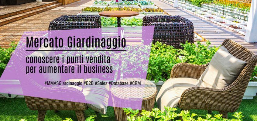 Mercato Giardinaggio: conoscere i punti vendita per aumentare il business